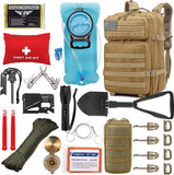 Tactical Survival Backpack 42L - TopTacticalGear