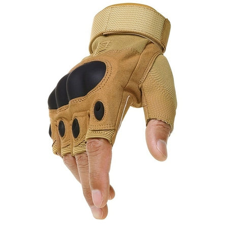 Fingerless Tactical Gloves - TopTacticalGear