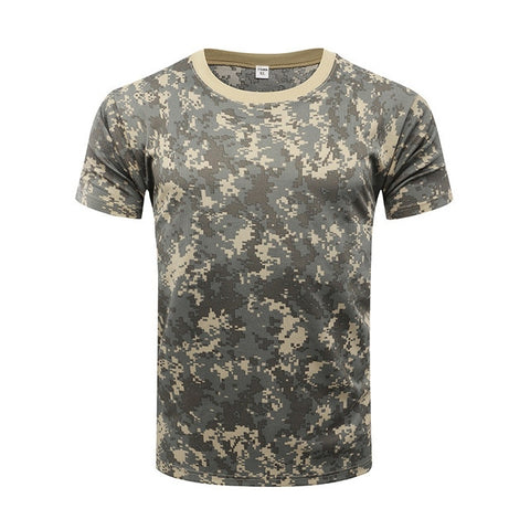 Camouflage Tactical T-Shirt - TopTacticalGear