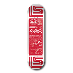 'Thanks For Riding'  -  2019 New Red Skate Deck