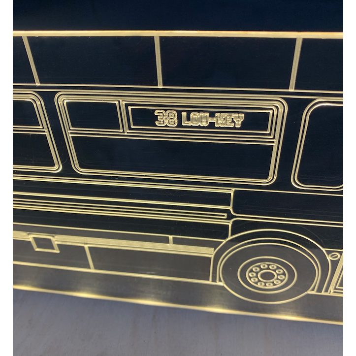 "Geoknotic - ""Low Key 38"" Muni Bus Night Light"