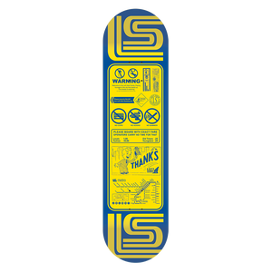 "'Thanks For Riding'  -  ""Kezaar"" Warriors Skate Deck"