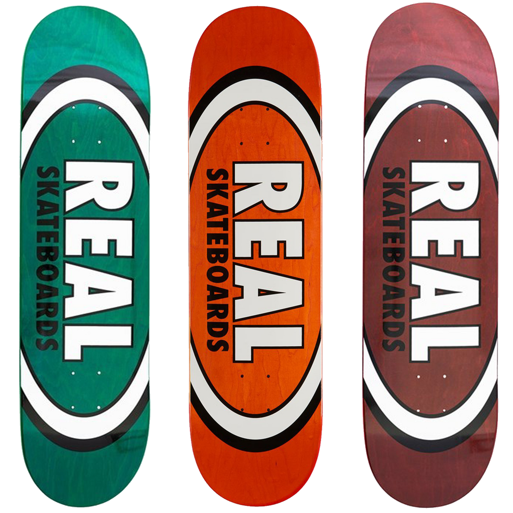 REAL - Oval Team Skateboard Deck
