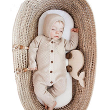 Load image into Gallery viewer, Cute Baby Unisex Knitted Rompers With Warm Hat