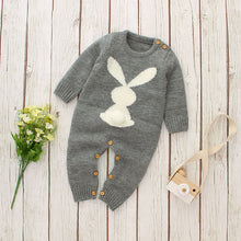 Load image into Gallery viewer, Baby Unisex Knitting Rabbit Rompers Hot Selling Jumpsuit