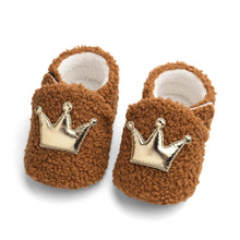 Load image into Gallery viewer, 0-12M Toddler Baby Winter Furry Shoes First Walkers Shoes