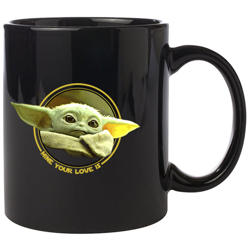 Baby Yoda The Mandalorian ceramic coffee mug