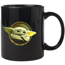 Load image into Gallery viewer, Special Offer - Baby Yoda The Mandalorian ceramic coffee mug