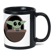 Load image into Gallery viewer, Baby Yoda The Mandalorian ceramic coffee mug