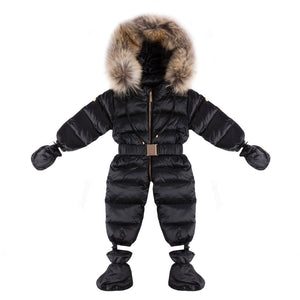 Winter Down Suit With Fur(No Real Fur)