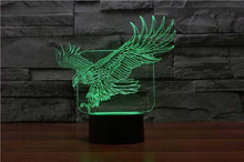 Load image into Gallery viewer, Eagle 3D Illusion Lamp