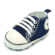 Load image into Gallery viewer, Toddler Baby Lace Up Canvas Shoes First Walkers Shoes