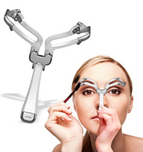 Load image into Gallery viewer, Adjustable Eyebrow Shapes Stencil