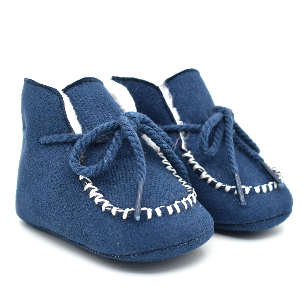 0-12M Toddler Baby Snow Boots Shoes First Walkers Shoes