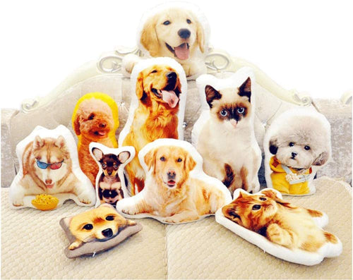 Personalized DIY Shaped Pillow with Pet/Food/People and Others - Duplex Printing Customized Lover Gifts