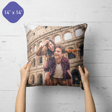Load image into Gallery viewer, Personalized Custom Pillow - Custom photo Pillow with Duplex Print Image/Text - Unique Gift for Your Lover