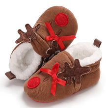Load image into Gallery viewer, Christmas Toddler Baby Shoes (No Real Fur)