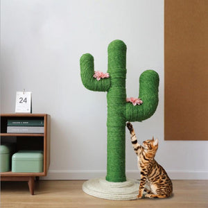 Cute Cactus Cat Climbing Frame