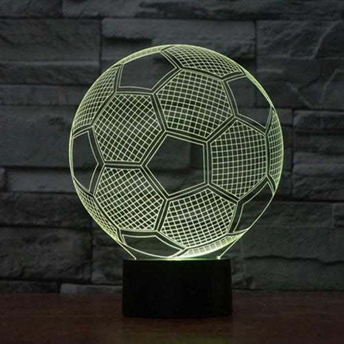 Soccer 3D Illusion Lamp