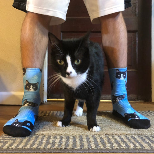 Customized Cat Socks