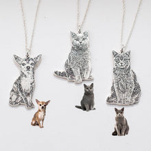 Load image into Gallery viewer, Your Pet Photo Necklace