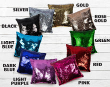 Load image into Gallery viewer, Personalized Photo Sequin Pillow