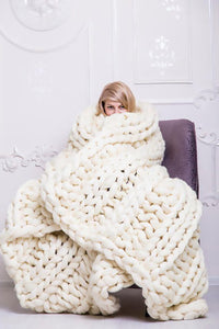 Chunky Knit quilt