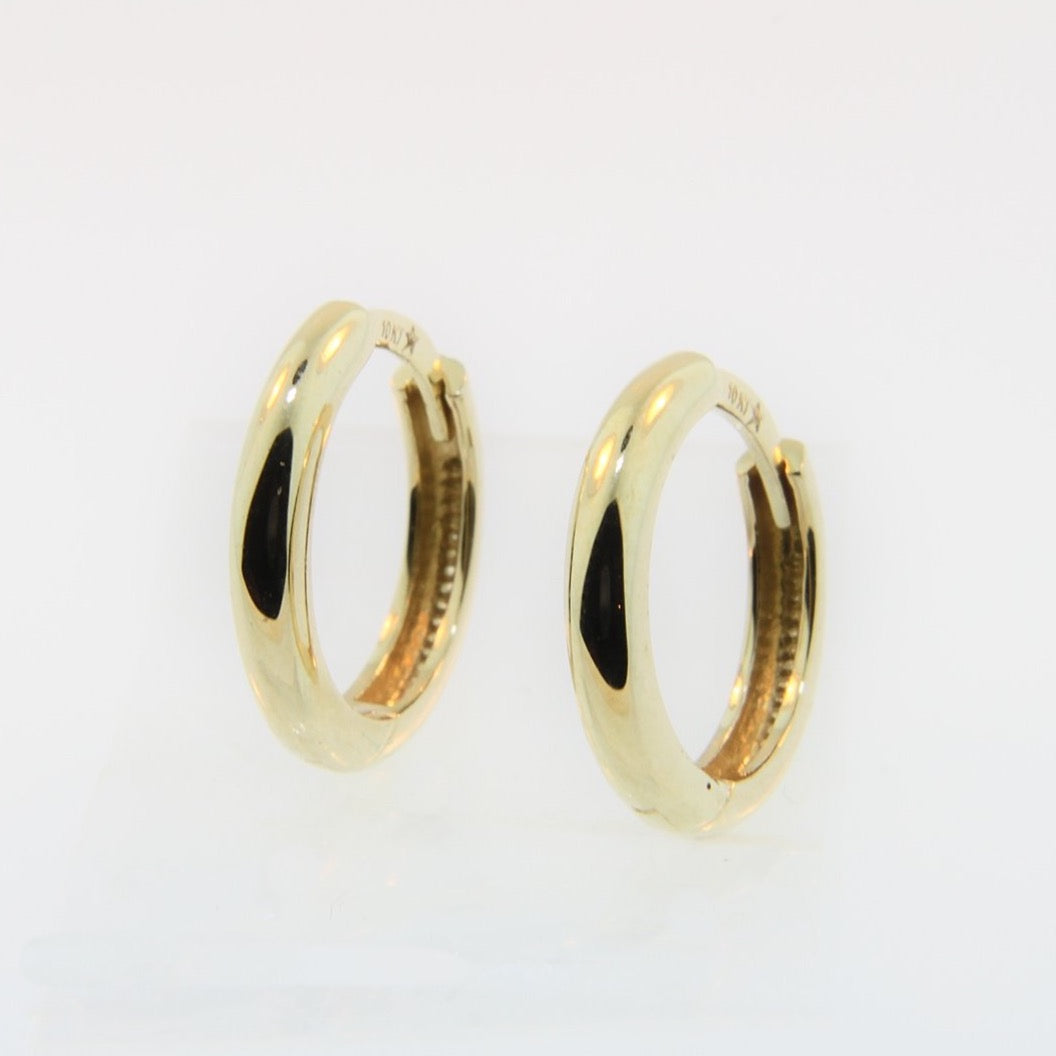 Small Gold Sintra Earrings