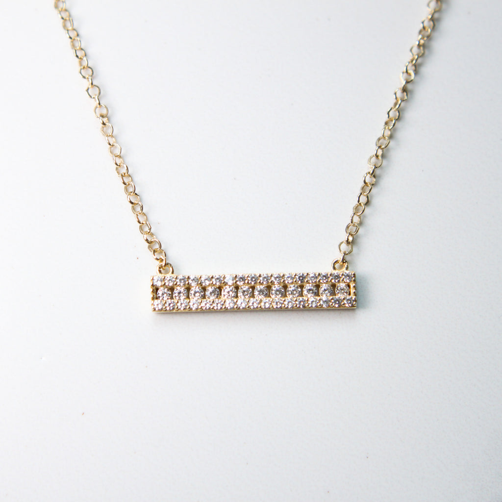 Cubic Zirconia Troyes Necklace