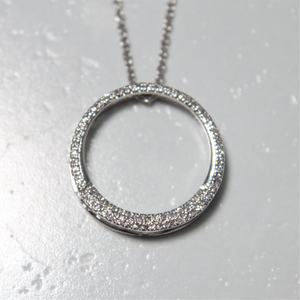 Circle of Life Natural Diamond Necklace