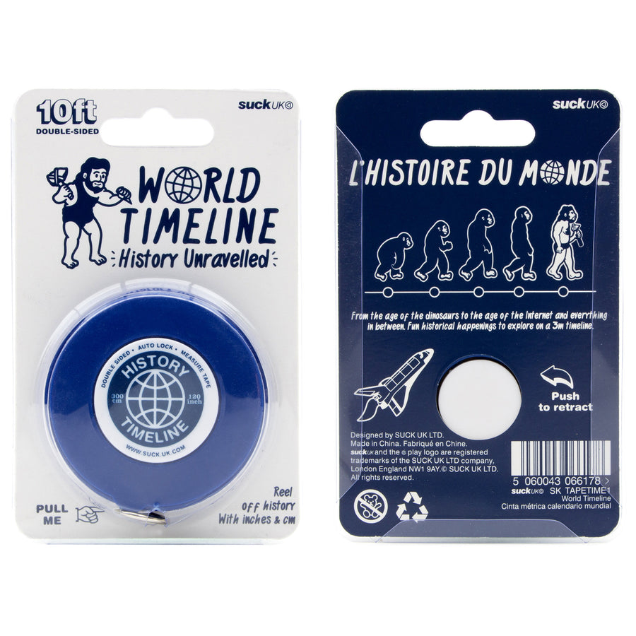 World Timeline Tape