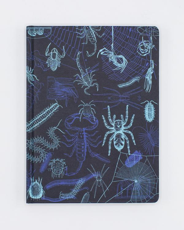 Arachnids + Myriapods Hardcover Journal - Lined/Grid