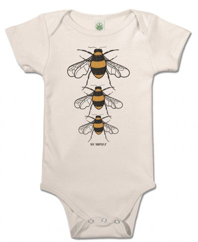 Bee Yourself Baby Onesie