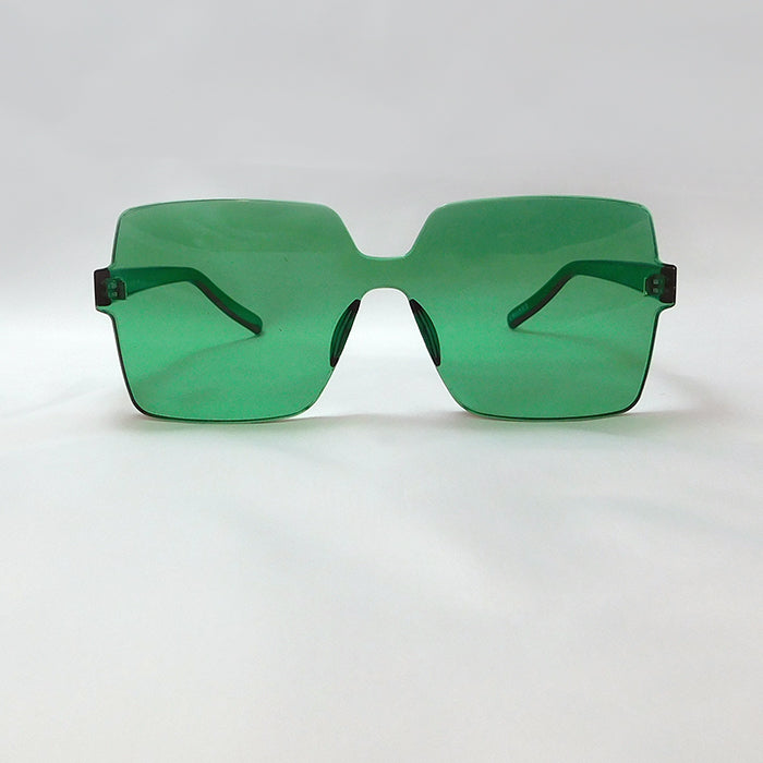 Emerald Block Sunglasses