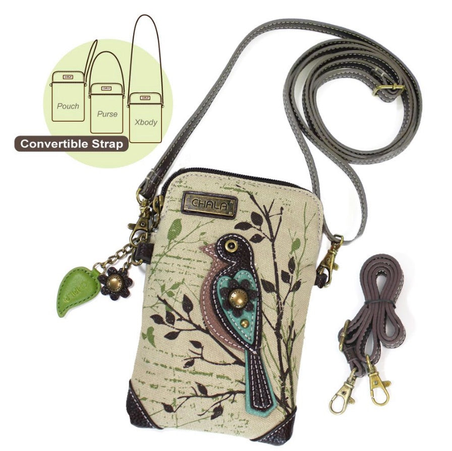 Cell Crossbody - Bird