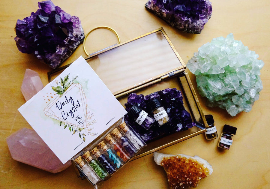 Daily Crystal Vial Set