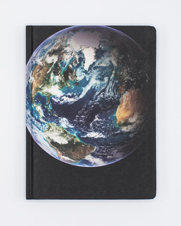 Night + Day On Earth Hard Cover Journal - Dot Grid