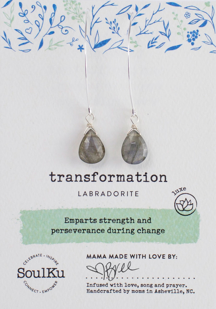 Transformation Labradorite Earrings