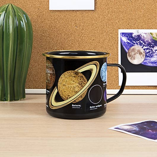 Enamel Mug - Space