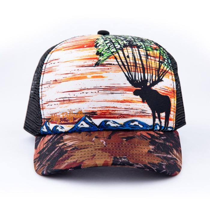 High Profile Trucker Hat - Forest King