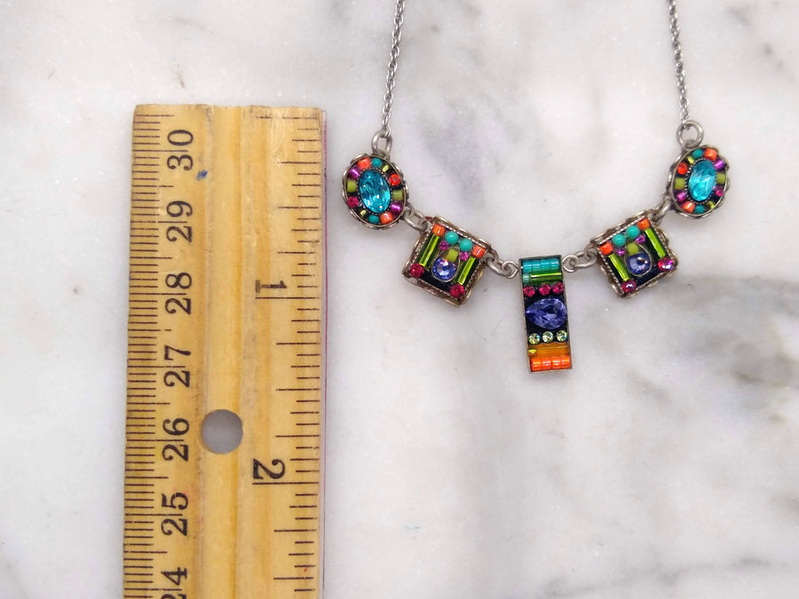 Geometric Medley Necklace