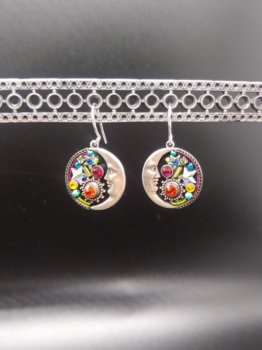 Warm Lunar Expression Earrings