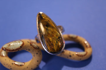 Teardrop Pietersite Ring