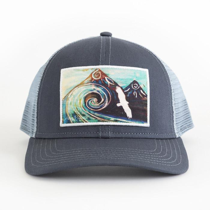 Low Profile Trucker Hat - Surf Break