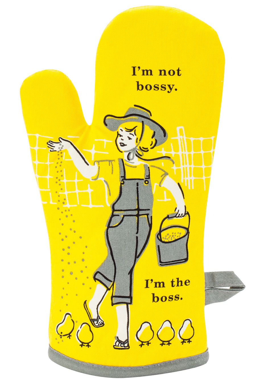 I'm Not Bossy I'm the Boss Oven Mitt
