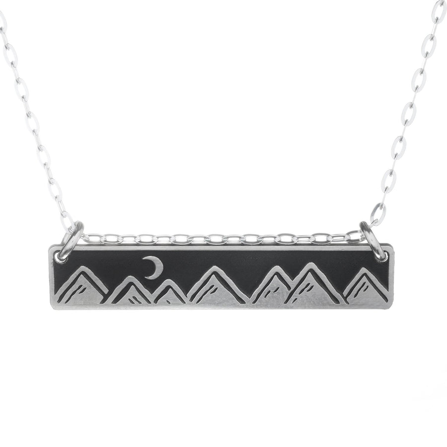 Moonlit Mountains Necklace