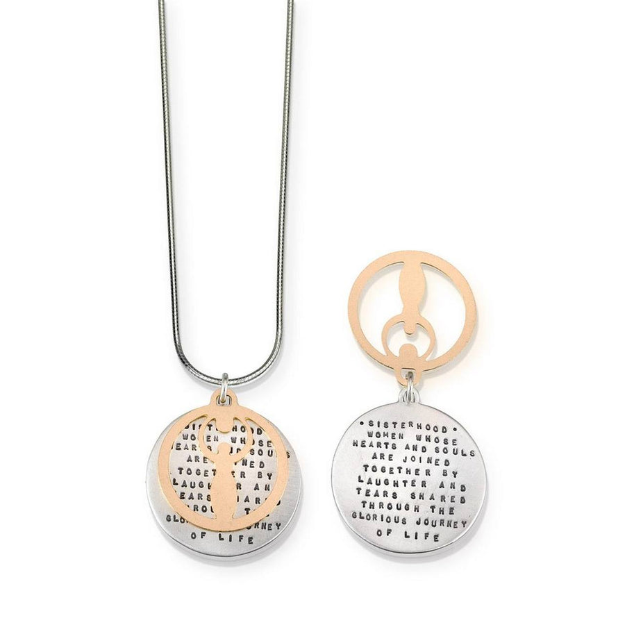 Sisterhood Silver & Gold Necklace