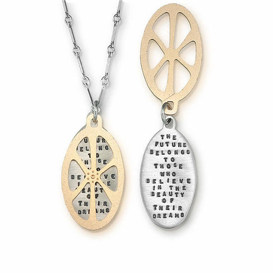 The Future Silver & Gold Necklace