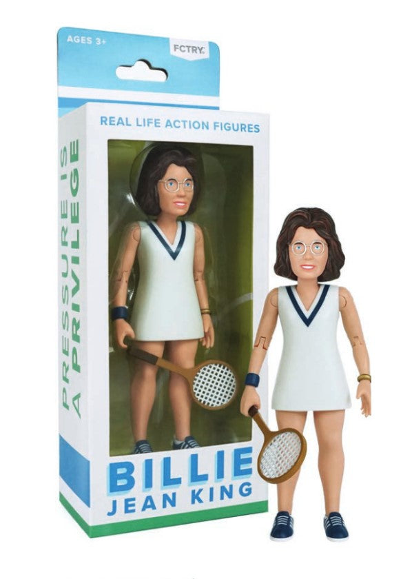 Real Life Action Figure Billie Jean King