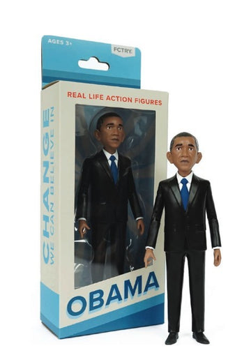 Real Life Action Figure Barack Obama